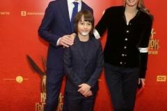 Антон Златопольский с женой и сыном