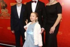 Антон Шагин с семьей