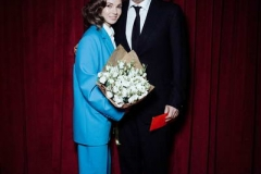 Марюс Вайсберг с супругой