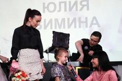Юлия Зимина с дочерью