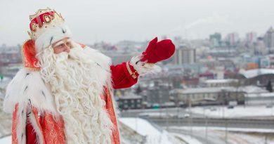 Дед Мороз: «Ни один коронавирус за мной не угонится!»